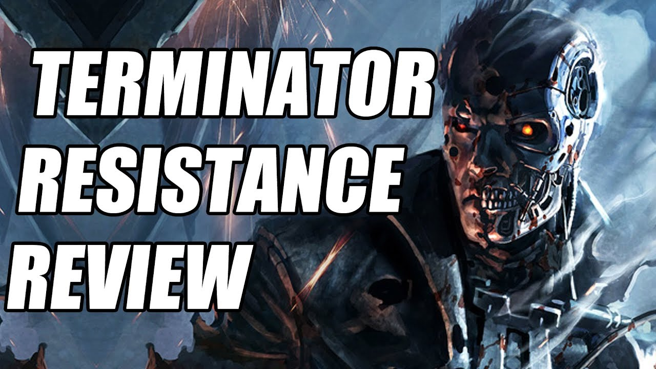 Terminator Resistance Review - A Run-of-The-Mill Shooter (Video Game Video Review)