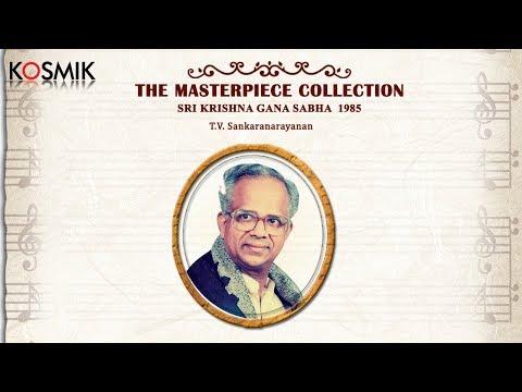 Masterpiece - Sri Krishna Gana Sabha 1985 - T.V. Sankaranarayanan