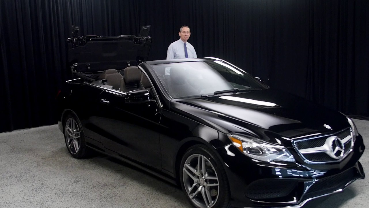 Mercedes Benz Of Scottsdale >> Espresso Brown/Black soft top E 400 - 2017 Mercedes-Benz E ...