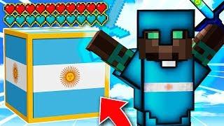 ¡NUEVOS LUCKY BLOCKS de ARGENTINA INVENCIBLES! 😱💥 LUCKY BLOCKS MINECRAFT MOD