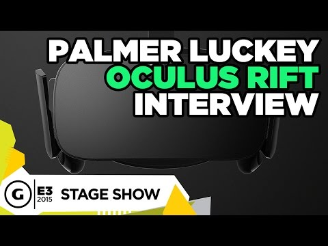 Palmer Luckey Oculus Rift Interview - E3 2015 Stage Show