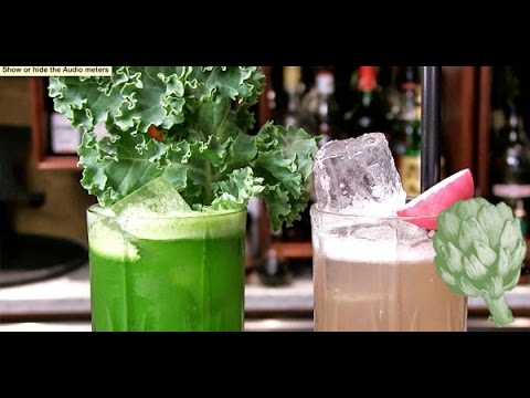Kale Cocktail?! We Learn Why Veggies Are a Welcome Addition | Potluck Video