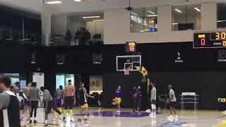 Lakers training camp 2018 day 1: shoot around