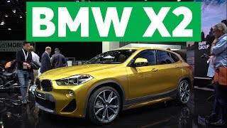 2018 Detroit Auto Show: 2018 BMW X2 is Small and Sporty | Consumer Reports