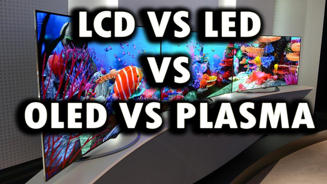 LCD VS LED VS OLED VS PLASMA - YouTube
