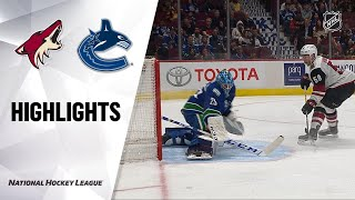 09/26/19 Condensed Game: Coyotes @ Canucks