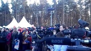 Открытие Чкаловской эстакады 29 .10. 2014 г