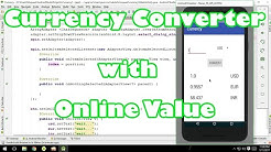 Currency converter with online currency value in android by Abdul Moqueet Wahedi