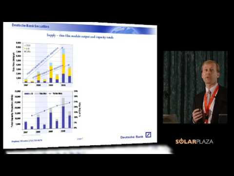 The Wall Street translation of the Solar PV industry (Stephen O'Rourke) - Part 1 of 3