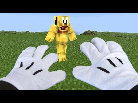 REALISTIC MINECRAFT - MICKEY MOUSE vs ZOMBIES