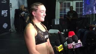 Aspen Ladd Post Fight Interview: UFC 229