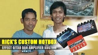 Efek Gitar Rick s Custom Hotbox Langganan Musisi Lokal hingga Gitaris Michael Jackson