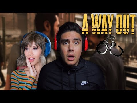 WHAT THE F#$% DID SHE GET ME INTO?! | A Way Out W/ Gloom [1]