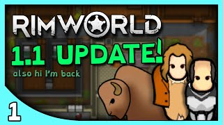 Yeti Plays RIMWORLD | Let's Play RimWorld Gameplay Update 1.1 part 1 (No Mods)