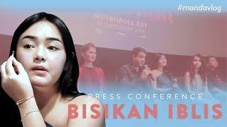 PRESS CONFERENCE FILM BISIKAN IBLIS | #MANDAVLOG