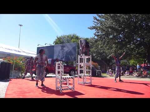 African Acrobats Texas State Fair 2013