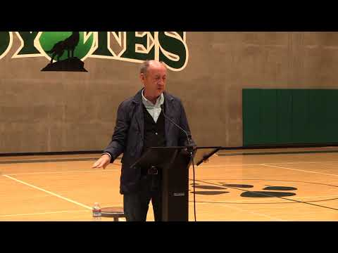 Billy Collins at Sonoma Academy Students Day