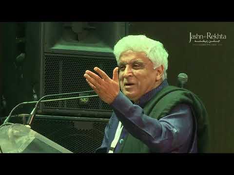 Javed Akhtar | Mushaira Jashn-e-Rekhta 4th Edition 2017