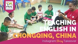 Teaching English in Chongqing, China with Jessica Stanton - TEFL Day in the Life