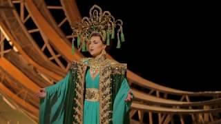 Смотреть клип Venera Gimadieva: The Golden Cockerel at Santa Fe Opera онлайн
