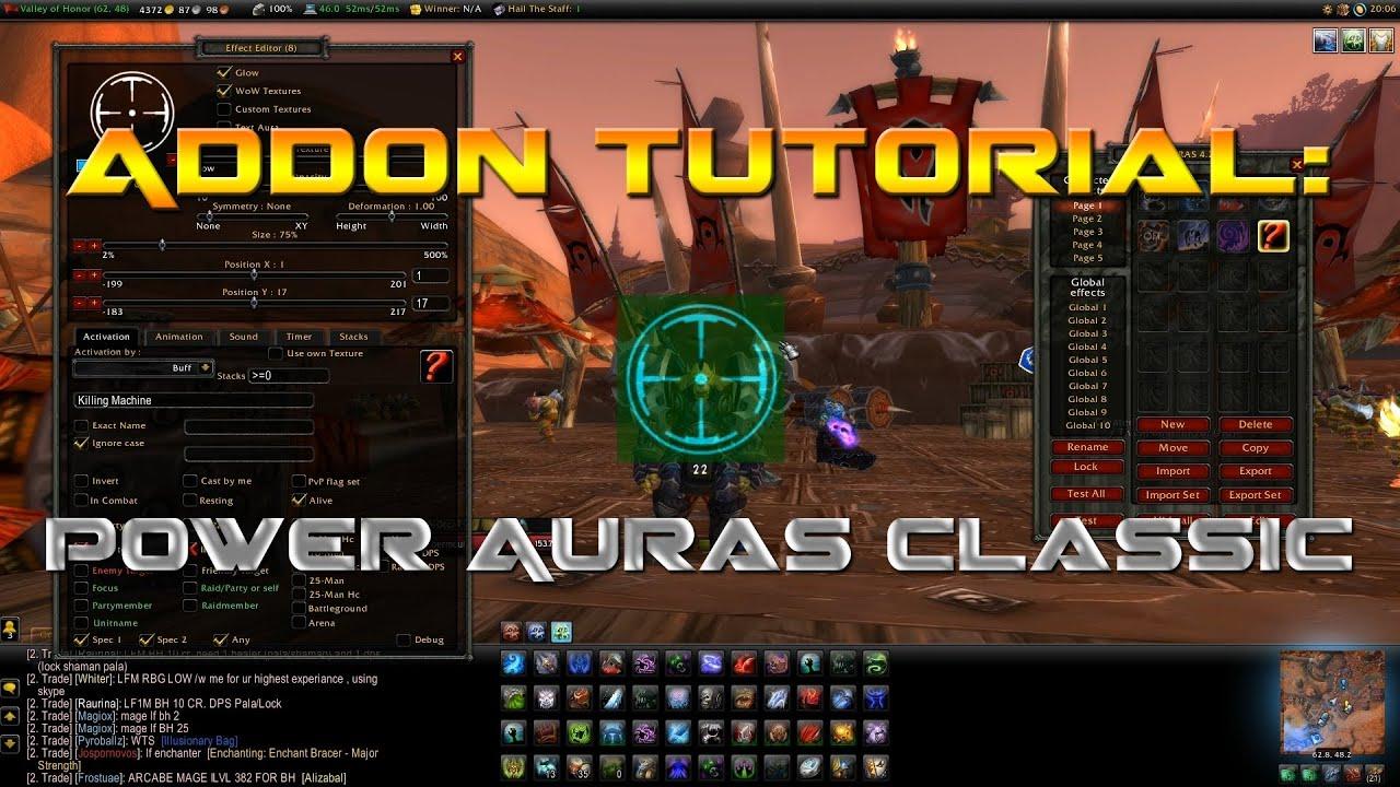 addon power auras classic 3.3.5a
