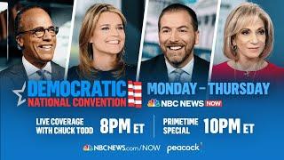 Democratic National Convention Day 2 | Featuring Rep. Ocasio-Cortez, Bill Clinton | NBC News