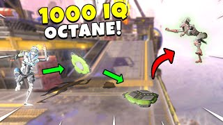 *NEW* 1000 IQ OCTANE OUTPLAY!! - NEW Apex Legends Funny & Epic Moments #326