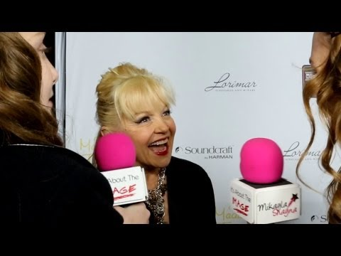 Charlene Tilton (Lucy Ewing) of Dallas Interview Hooray For Hollywood High Awards - Carol Burnett