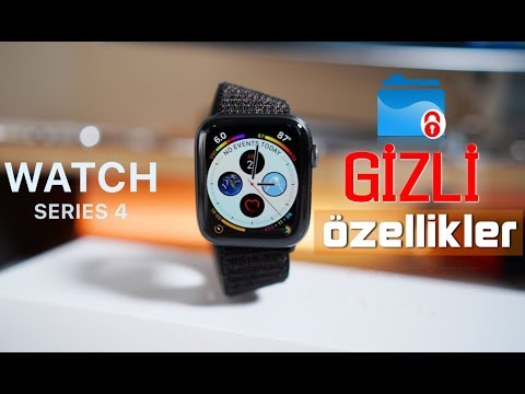 Apple Watch Series 4 ● Bilinmeyen Gizli Özellikler