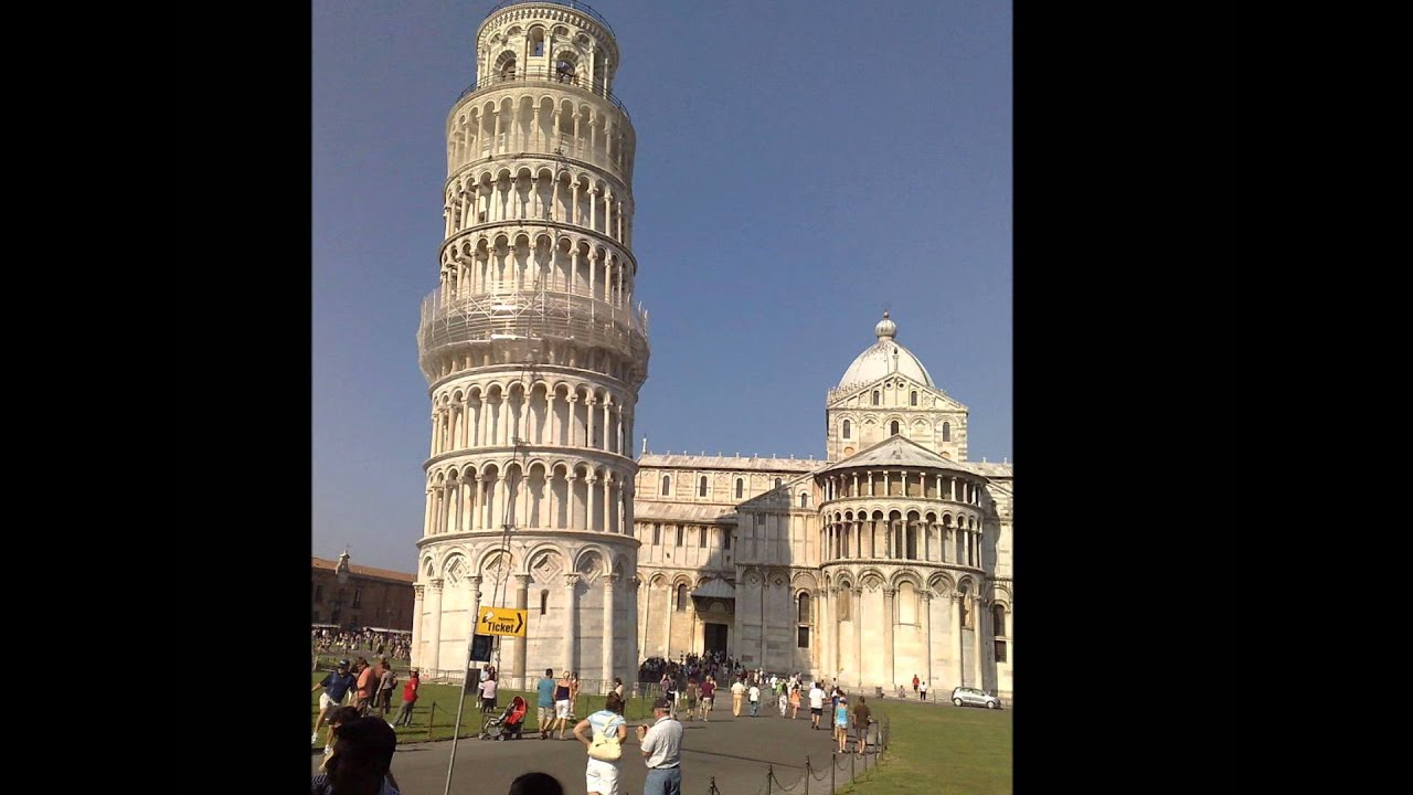 Let's GO!! Take a virtual tour of the Leaning Tower of Pisa