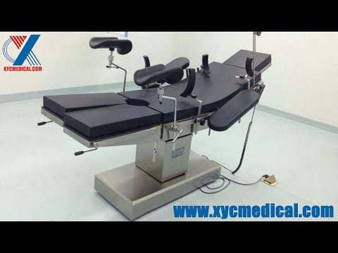 Electric OT Table General Surgery Operating Table Operating Room Table