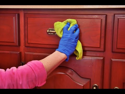 How To Clean Kitchen Cabinets | Correct Cleaning Of Wood Kitchen Cabinets Youtube