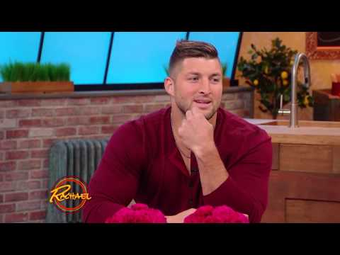 Rachael Ray's Audience Asks Tim Tebow Anything + Everything!