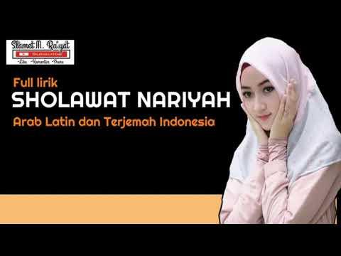 Sholawat Nariyah Terjemaah Latin Arab