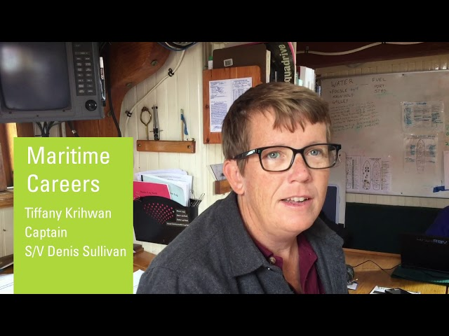 Captain of the S/V Denis Sullivan: Maritime Careers
