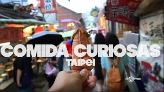 Restaurantes y comidas raras de Taipei