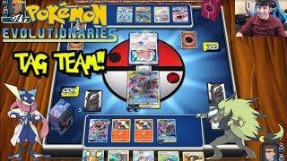 Pokemon Online! Greninja & Zoroark Tag Team Deck Profile & Battles!!