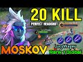 - Moskov Javelin Champion 20 Kills! Ultimate HeadShot! - Top 1 Global Moskov by LucyWagey - MLBB