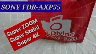 Sony handycam FDR AXP55 4K qua…