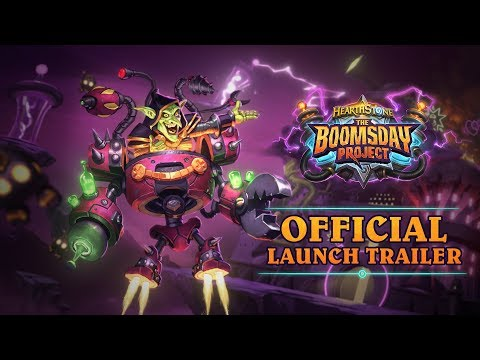 How to get three free packs from Hearthstone's Boomsday Project