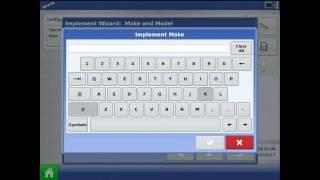 Ag Lideri® Integra/Versa ekranda Hidrolik Tohum Oranı yapılandırması oluşturma