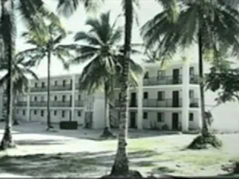Three Story Waffle-Crete Apartment Building in Majuro, Marshall Islands