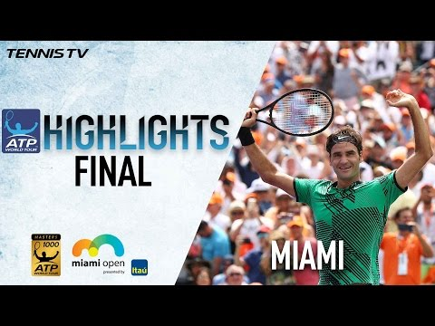 Federer Clinches Sunshine Double In Miami Open 2017 Final Highlights