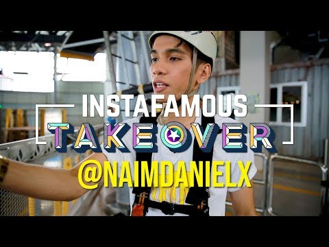 INSTAFAMOUS TAKEOVER | Naim Daniel Takes The Challenge!!