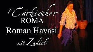 Türkischer Roma Grundschritt 9/8 Rhythmus. Türk Roman Havasi - Zigeuner Tanz, Gypsy Dance