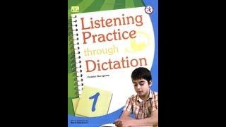 Listening Practice Through Dictation 1 | Track 21 --- 30