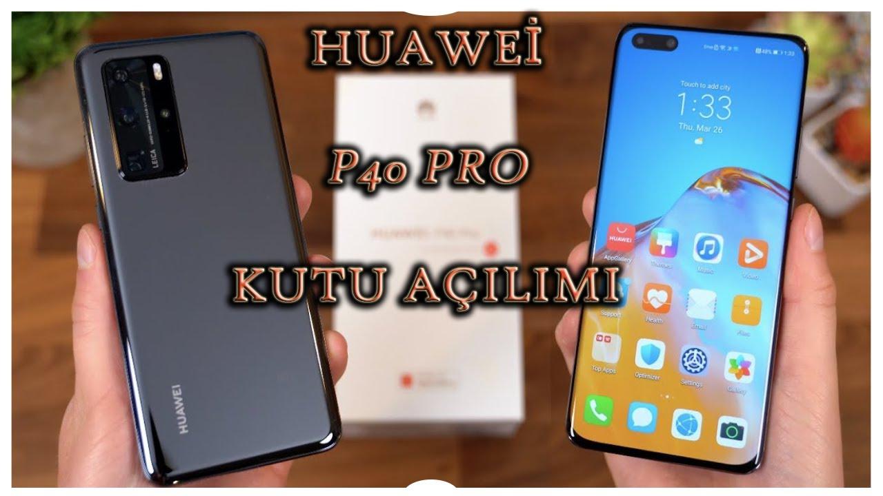 Huawei Mate 40 Pro kutu açılımı! - En iyi Huawei!
