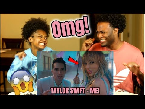 Download Lagu  Taylor Swift - ME! feat. Brendon Urie of Panic! At The Disco ft. Brendon Urie REACTION Mp3 Free