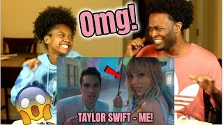Taylor Swift ME feat Brendon Urie of Panic At The Disco ft Brendon Urie REACTION