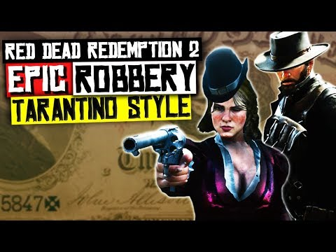Let's Film An Epic Bank Robbery TARANTINO STYLE - Red Dead Redemption 2  Gameplay thumbnail